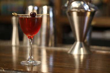 manhattan midtown glass martini libbey