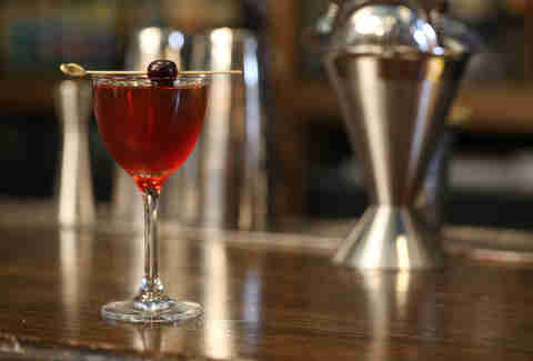 manhattan midtown glass martini libbey
