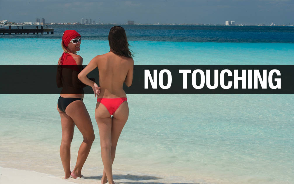 Beach naked nude Large HD