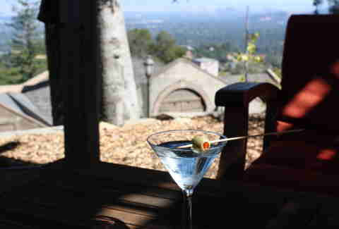 Mountain Winery martini