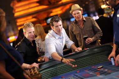 Gambling in a Tahoe casino