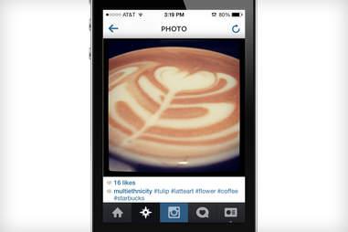 latte art starbucks