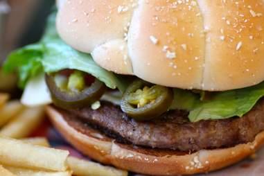 McDonalds Jalapeño Kicker sandwiches