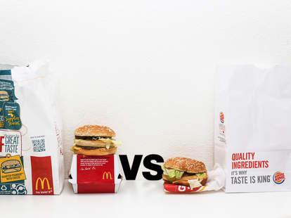 big mac vs big king