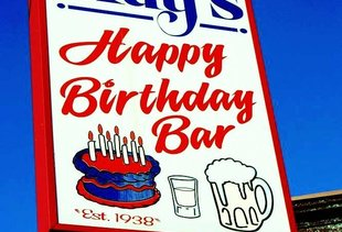 Ray's Happy Birthday Bar