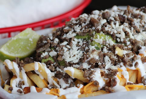 carne asada french fries taco love los angeles