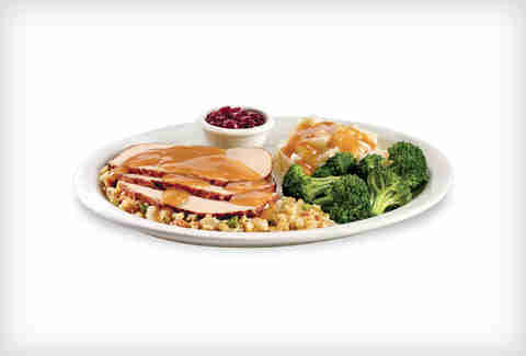Denny's Dwarves' Turkey & Dressing Dinner