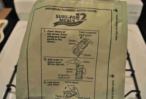veteran's day mre
