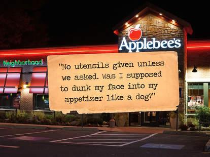 Applebee's Yelp review
