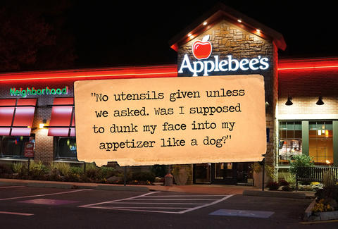 Applebee's Yelp review