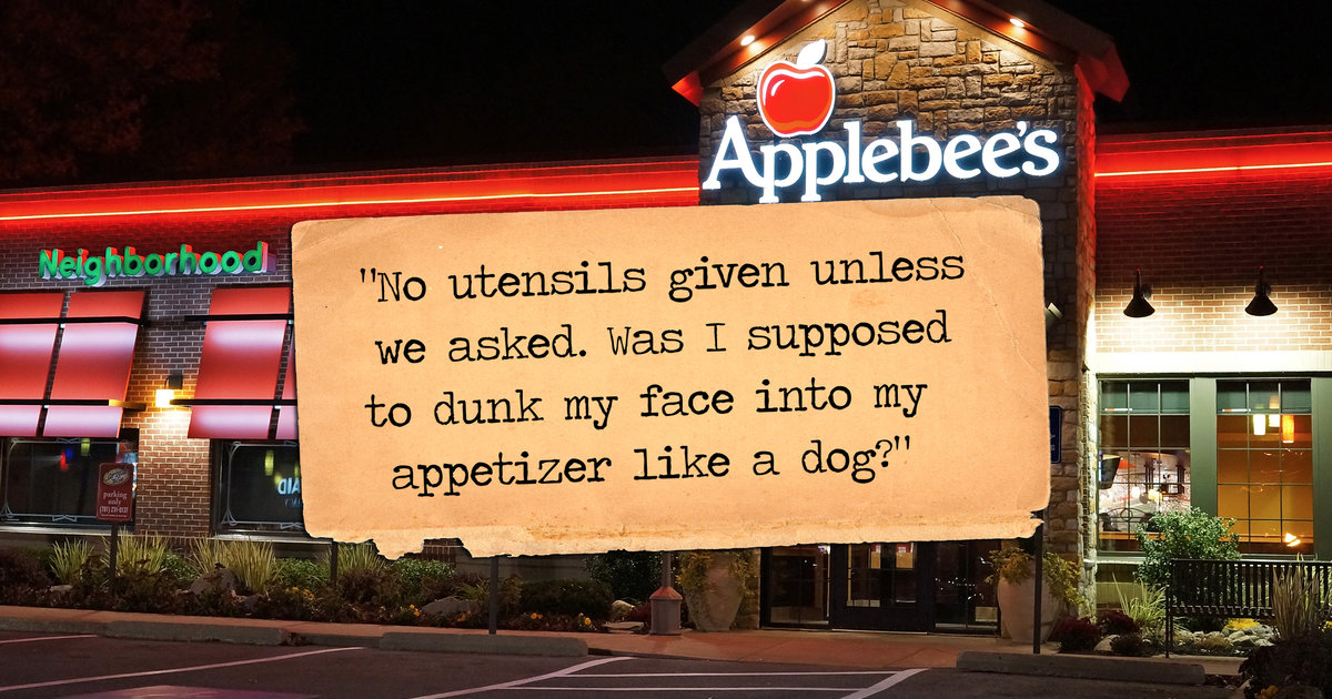 6 ridiculously petty yelp reviews of applebee s thrillist
