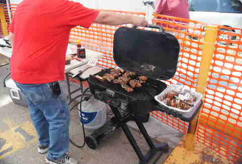 tailgate barbecue