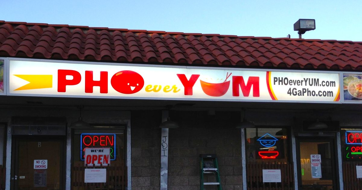 Pho Restaurants Best Pho Restaurant Name Puns In La