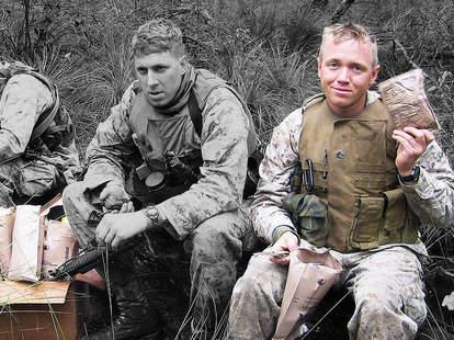 military servicemen