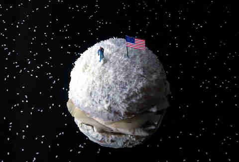 The Neil Armstrong Burger