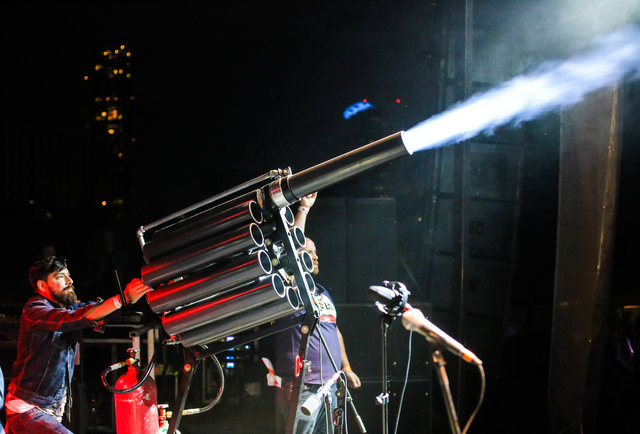 This is what a taco cannon looks like
