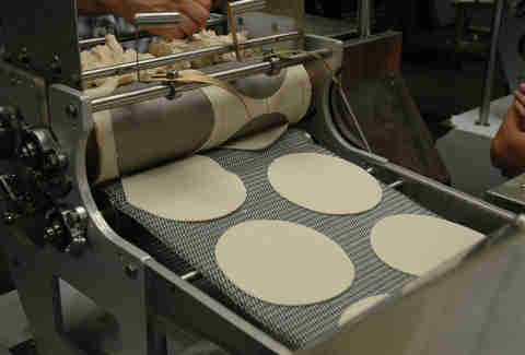 Fresh Tortillas at La Palma