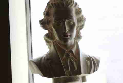 frederic chopin bust