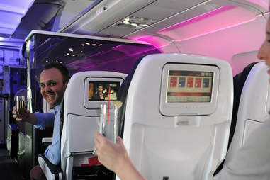 Virgin America Seat-To-Seat Delivery