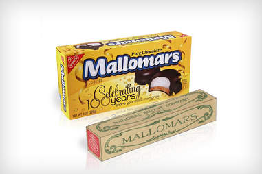 2013 and 1913 Mallomars boxes