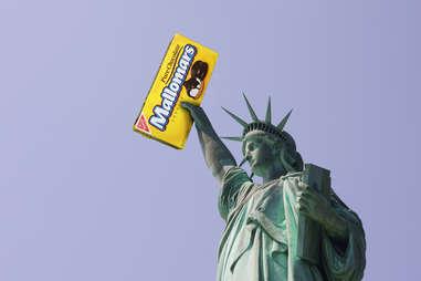 Statue of Liberty Mallomar