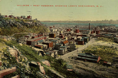 West Hoboken postcard