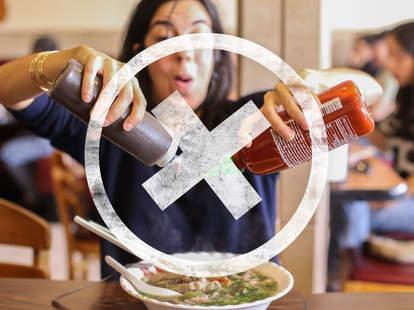asian food faux pas