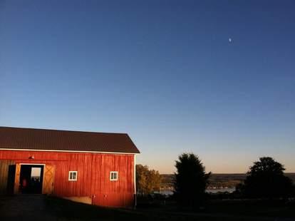 Abandon Brewing Co. Barn