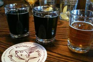 Roosterfish beer and coaster