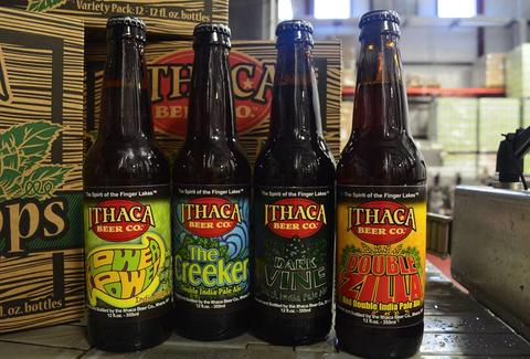 Ithaca Beer Bottles