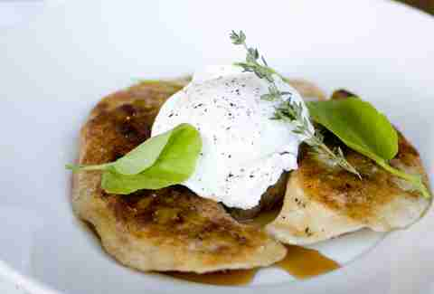 The pierogies at Bluestem Brasserie