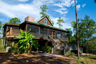 private island cottage