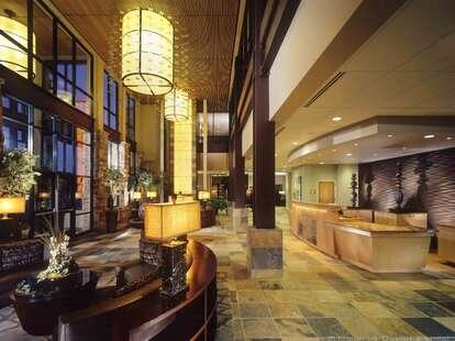 Newpark Resort and Hotel lobby