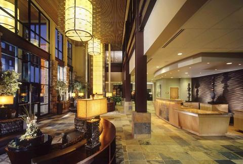 Newpark Resort and Hotel lobby