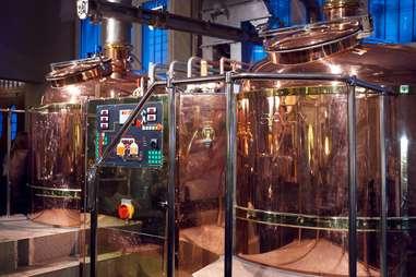 Hotel Brovaria brewing vats