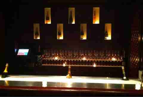 Champagne Lounge at RumBa Hidden Bars Boston