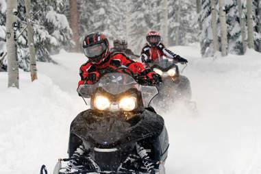 Snowbird Snowmobile -- Snowbird Ski and Summer Resort