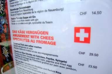 bad english menu