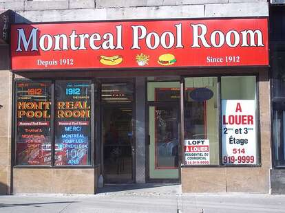 Montreal Pool Room