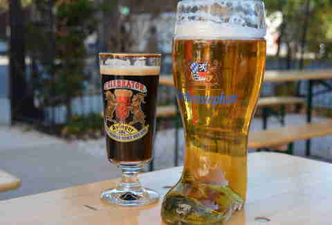 Dacha Beer Garden Best New Fall Restaurants Washington DC
