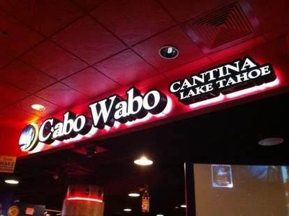 Cabo Wabo sign