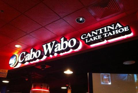 Cabo Wabo sign