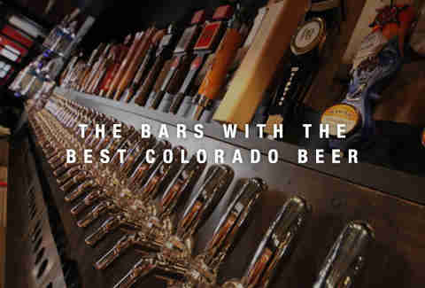 Colorado Plus Brewpub's taps