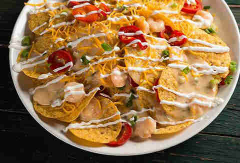 New Orleans Pelicans Seafood Nachos