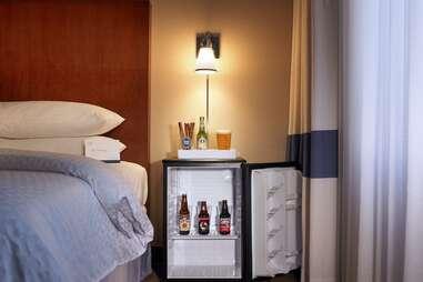 bedside beer fridge