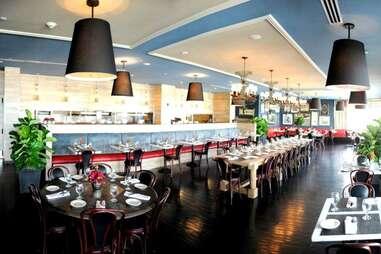 East End Brasserie dining room
