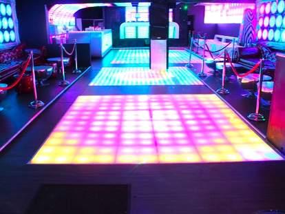 Spin Room at Dirty Nightclub Portland