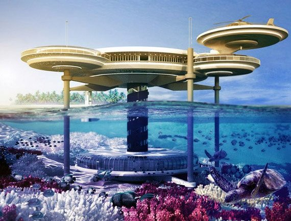 The world's most incredible underwater hotel rooms