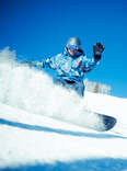 Snowboarding Park City, UT
