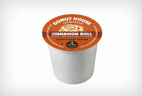 Donut House Cinnamon Roll Coffee